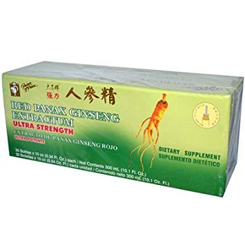 - Prince of Peace Red Panax Ginseng Extractum Ultra Strength - 30 Vials