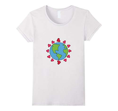 womens-love-the-earth-t-shirt-love-the-planet-hearts-green-xl-white