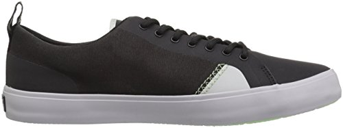 Sperry Top-sider Mens Flex Deck Sneaker In Canvas Nero