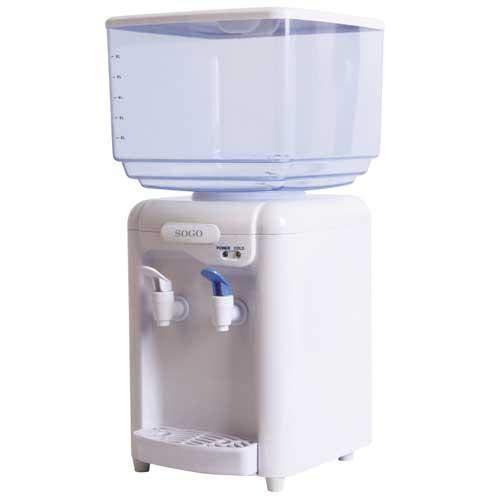Sogo Dispenser di Acqua con Mini Refrigeratore