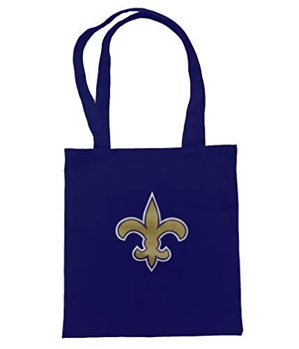 NFL Team Logo Unisex Canvas Tote Bag (New Orleans Saints)
