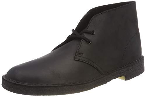 Originals Uomo Nero Clarks Polacchine Desert Boot Smooth Leather Black pq6wHzdz