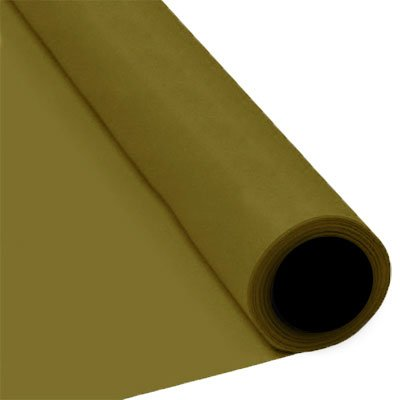 25m Red Paper Banquet Roll Party Xmas Disposable