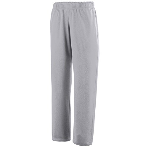 Augusta Activewear Wicking Fleece Sweatpant-Youth, Athletic Grey, Large
