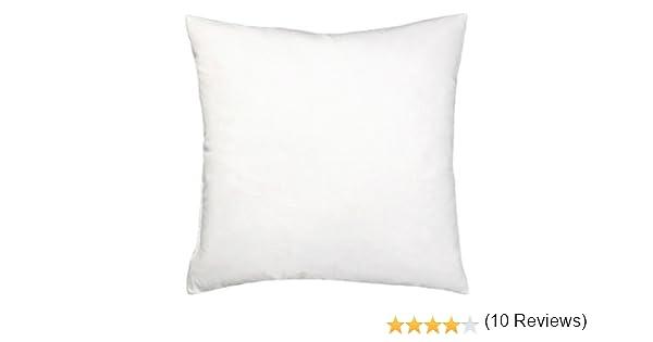 Bertha hogar - Relleno de cojín alaiz(40x40 cm), color blanco: Amazon.es: Hogar