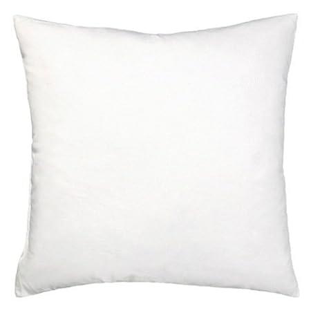 Bertha hogar - Relleno de cojín alaiz(50x75 cm), color blanco