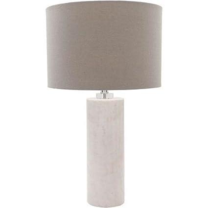 Amazon.com: Surya Roland rnd100-tbl lámpara de mesa, Natural ...