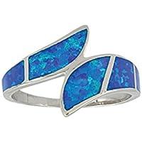 Montana Silversmiths Modern Block Opal Ring