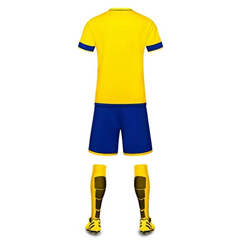 Corta Set Manica Gioco Football Calcio Training FightingUomo Kit Maglia Sport Team Tw8R0x7q