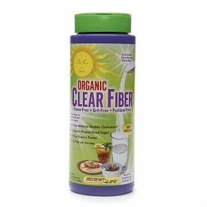 Renew Life Organic Clear Fiber, 9.5 ounce, Twin-Pack