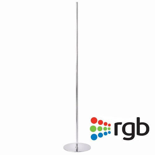 Lampara decorativa de pie LED LUMO ROUND RGB, 20W