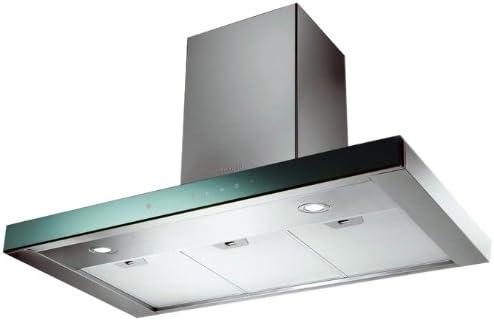FABER S.p.A. Stilux EG8 X/V A90 Logic 660 m³/h De pared Espejo, Acero inoxidable - Campana (660 m³/h, 45 dB, 56 dB, 63 dB, De pared, Espejo, Acero inoxidable): Amazon.es: Hogar