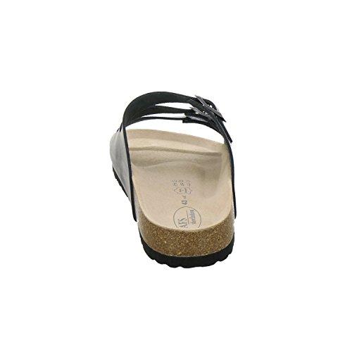 Made Germany und AFS sportliche Bequeme Herren 3133 Unisex Navy Schuhe Arbeitsschuhe Hausschuhe Damen Pantolette in 4OPqCOZ