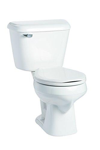 Mansfield Plumbing 130.160.WHT Alto Round Front Toilet, White