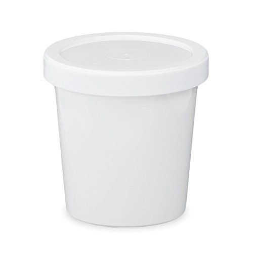 Snap On Grommets (16 oz. Food Grade Freezer Grade Round Container with Lid - Translucent - 30)