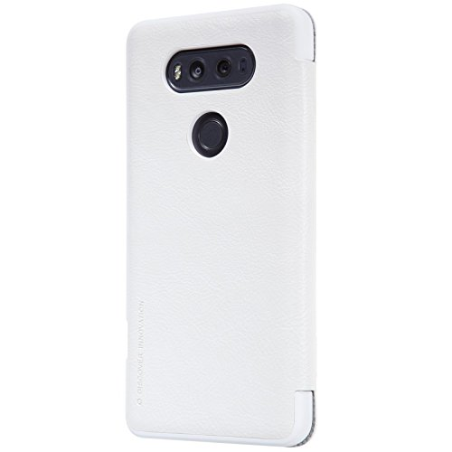 Nillkin Qin Funda de Piel para LG V20 - Color Blanco: Amazon.es ...