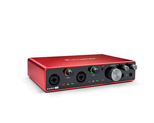 Focusrite Scarlett 8i6 (3rd Gen) USB Audio Interface with Pro Tools | First (The Best Guitarist Ever)