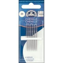 DMC Bulk Buy Chenille Hand Needles Size 22 6 Pack 1768-22 (12-Pack) by DMC