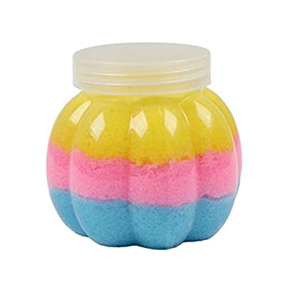 Gbell 50G Fairy Floss Cotton Candy Cloud Slime Color Mixing Crunchy Slime Putty,Scented Stress No Borax Mud Kids Squishy Clay Gifts Toy for Girls Boys Adults (B): Sports & Outdoors