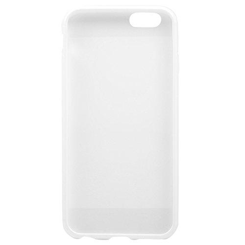 Phone Taschen & Schalen Für IPhone 6 u. 6S reines Farben-Muster TPU Fall ( Color : White )