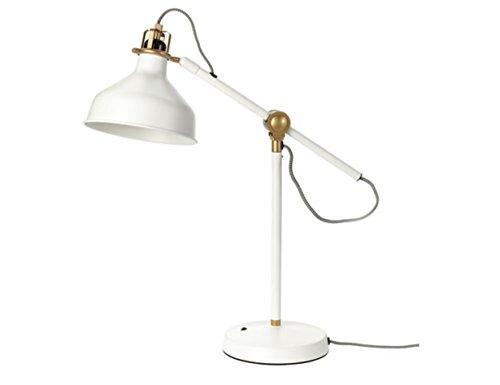 Amazon.com: IKEA RANARP – lámpara de trabajo, color crudo ...