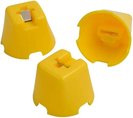 Iycorish 100ピース/バッグプラスチックセラミックアライメントフロアレベラータイルタイルレベルレベリングシステムキャップツール,タイル用