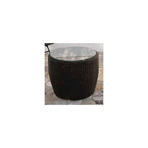 タカショー 庭座 サイドテーブル ダークブラウン KFA-T001 『ガーデンテーブル』 ダークブラウン B00KYRRCY6