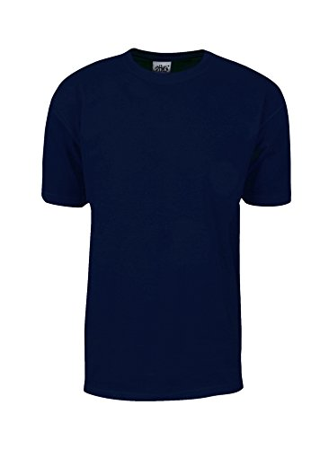- MHS03_L Max Heavy Weight Cotton Short Sleeve T-Shirt Navy L