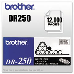 (Brother DR250 Replacement Drum Unit-Drum,12,000 Page Yield)