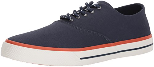 Sperry Top-Sider Men's Captains CVO Nautical Sneaker, Navy, 8.5 Medium US