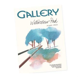 Gallery Watercolour Pad 200GSM - 20 Sheets B07KGBRFWF | Wir haben von unseren Kunden Lob erhalten.