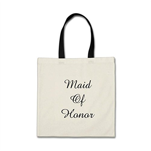 RealYou Maid Of Honor White Wedding Cloth Work Budget Totes For Women