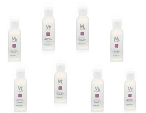 No Rinse Shampoo and Body Bath Pack of Eight (2 oz) Bottles by MediChoice