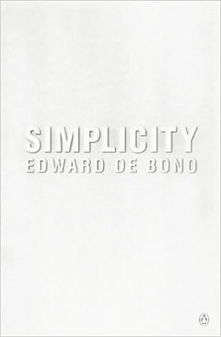 Edward De Bono Simplicity Pdf