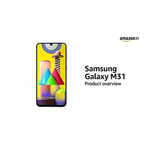 Samsung Galaxy M31 (Ocean Blue, 6GB RAM, 64GB Storage)