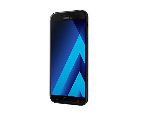 Samsung Galaxy A7 (2017) Factory Unlocked SM-A720F/DS 32GB 3GB Ram Dual Sim 4G LTE USA Caribbean & Latin International Version (Black Sky)