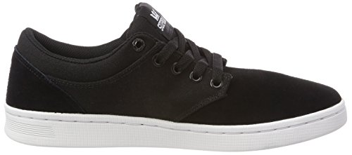 Supra Chino Noir 003 Sneakers Adulte white Mixte Court Basses black rrxqYwTd
