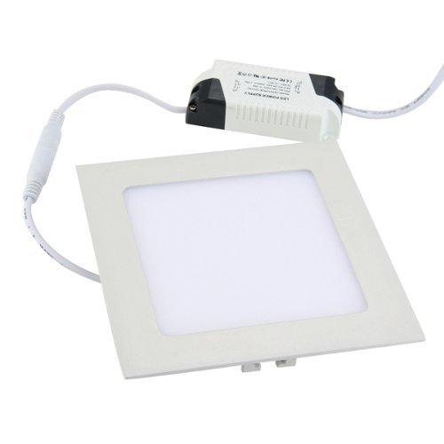 9W 45 2835 SMD LED Panel Lampe Einbauleuchte Deckenlampe AC 90-240V Warmweiß