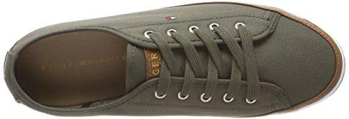 Tommy Hilfiger Dame Ikoniske Kesha Sneaker Grün (støvede Oliven 011) wBG6w2kyMO