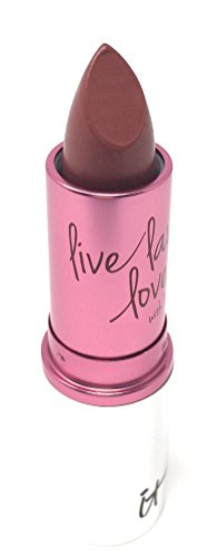 It Cosmetics Vitality Lip Flush 4-in-1 Natural Anti-Aging Lipstick Stain, 0.11 oz (3.4 g) Love Story by It Cosmetics