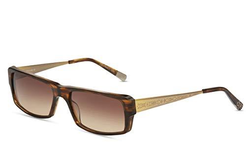 82d63dd728 Matsuda M2002 Designer Sunglasses Antique Gold & Tortoise/Brown Gradient  lenses