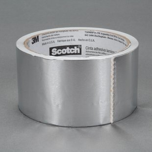 3M 3311 Aluminum Tape - 60 in Width x 3.6 mil Total Thickness - Flame Retardant - 58757 [PRICE is per ROLL]