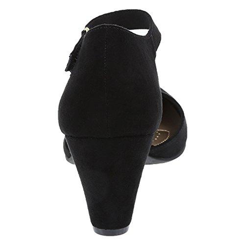 Dexflex Comfort Dames Joan 2-pc. Pomp Zwart
