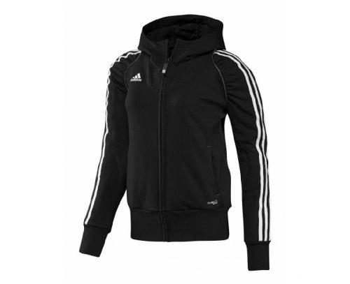 adidas Ladies T12 Hoodie, Black, M