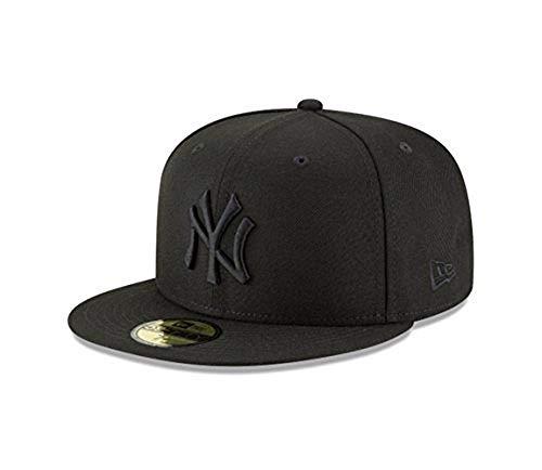 New Era New York Yankees MLB Basic 59FIFTY Fitted Cap Black ()