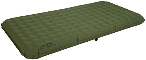 "Alps Mountaineering Air Bed Velocity Twin 39"" x 80"" x 6"" Gre"