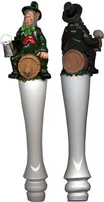 Irish Leprechaun Kegerator Beer Tap Handle - 11 Inches Tall