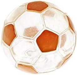 Ferribiella pelota fútbol transparente 12,5 cm: Amazon.es ...