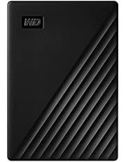 ويسترن ديجيتال 2 تيرابايت ماي باسبورت بورتابل محرك الاقراص الصلبة خارجي يو اس بي 3.0 - اسود, WDBYFT0020BBK