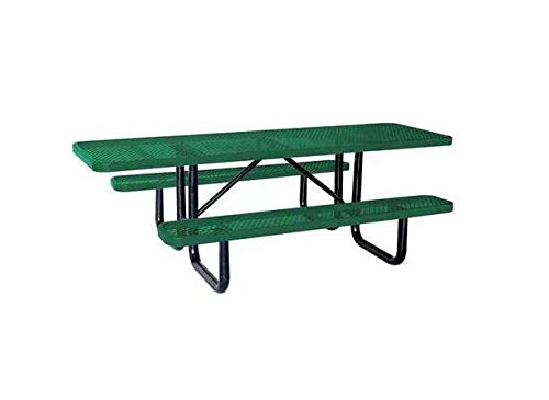 ADA Picnic Table, 96'' W x62'' D, Green by Value (Image #1)